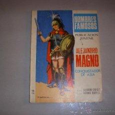 Tebeos: HOMBRES FAMOSOS Nº 9, EDITORIAL TORAY. Lote 43365668