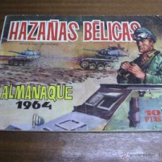 Tebeos: HAZAÑAS BÉLICAS - ALMANAQUE 1964 / TORAY ORIGINAL. Lote 43476360