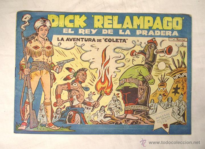 DICK RELAMPAGO EL REY DE LA PRADERA (Tebeos y Comics - Toray - Dick Relampago)