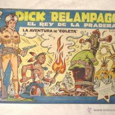 Tebeos: DICK RELAMPAGO EL REY DE LA PRADERA. Lote 43480010