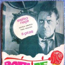 Tebeos: ESPIONAJE - ROSA DE MUERTE. EDIT. TORAY, NUM.: 55, EN 1967.. Lote 43489436