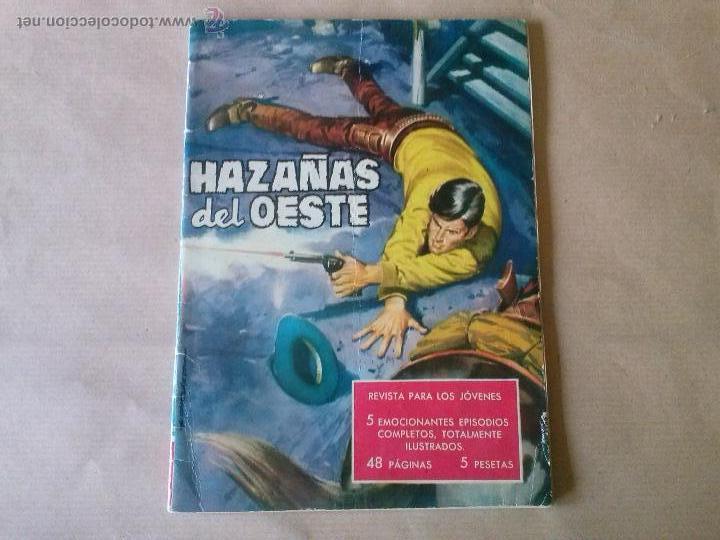 HAZAÑAS DEL OESTE Nº 3- TORAY (Tebeos y Comics - Toray - Hazañas del Oeste)