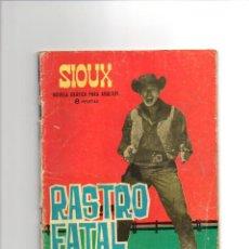 Livros de Banda Desenhada: SIOUX Nº 35 * RASTRO FATAL * ED. TORAY * CONTRAPORADA FRANCE NUYEN. Lote 43734592