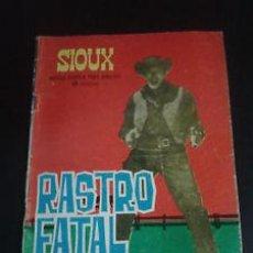 Tebeos: CÓMIC SIOUX - Nº 35 RASTRO FATAL - TORAY 1965. Lote 43748656