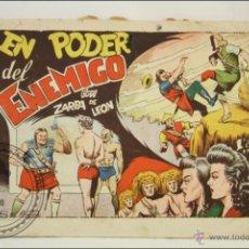 Tebeos: ANTIGUO CÓMIC EL PODER DEL ENEMIGO CON ZARPA DE LEÓN - Nº 38 - ED. TORAY - 1950. Lote 43804309