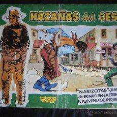 Tebeos: HAZAÑAS DEL OESTE Nº 3 EDICIONES TORAY. Lote 43920809