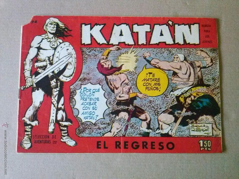 KATAN Nº 34 - TORAY (Tebeos y Comics - Toray - Katan)