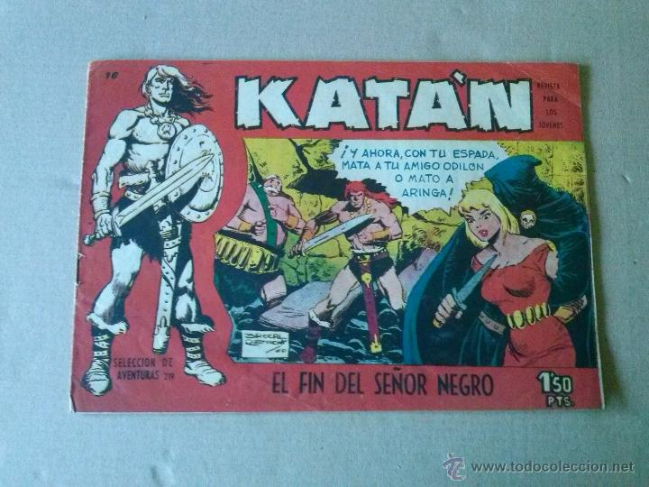 KATAN Nº 16 - TORAY (Tebeos y Comics - Toray - Katan)