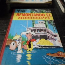 Tebeos: LUCKY LUKE, REMONTANDO EL MISSISSIPPI, ED. TORAY, 1968. Lote 44263264