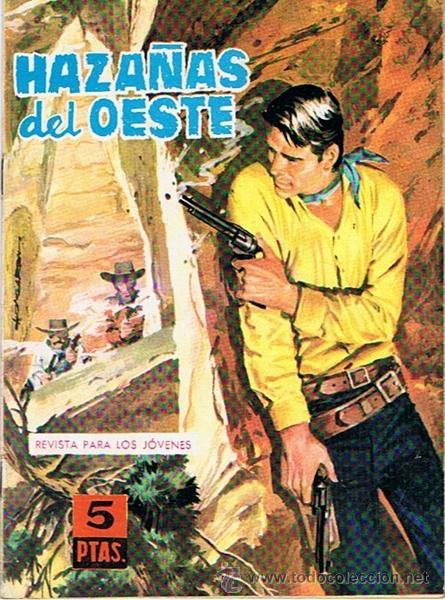 CÓMIC HAZAÑAS DEL OESTE N.56 TORAY 1959 (Tebeos y Comics - Toray - Hazañas del Oeste)