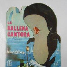 Tebeos: LA BALLENA CANTORA. CUENTOS TROQUELADOS. WALT DISNEY. TORAY Nº 48. 1979. TDKC4. Lote 45065805