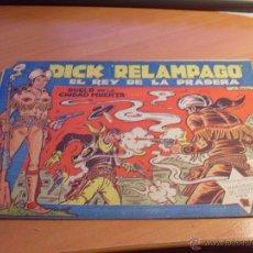 Tebeos: DICK RELAMPAGO Nº 20 (ORIGINAL ED. TORAY) (CL7). Lote 45074321