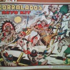 Tebeos: RAYO KIT - IRANZO // EDICIÓN ORIGINAL TORAY 1949 // COMPLETA // ENCUADERNADA. Lote 45125738