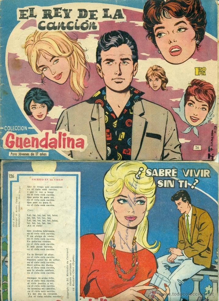 LOTE GUENDOLINA Nº 26-126 (Tebeos y Comics - Toray - Guendalina)