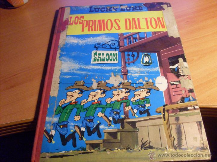 LUCKY LUKE. LOS PRIMOS DALTON (ED. TORAY) LOMO TELA SEGUNDA EDICION (CLA8) (Tebeos y Comics - Toray - Otros)