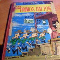 Tebeos: LUCKY LUKE. LOS PRIMOS DALTON (ED. TORAY) LOMO TELA SEGUNDA EDICION (CLA8). Lote 45286171
