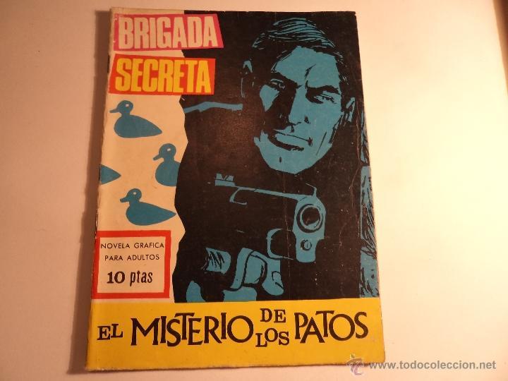 BRIGADA SECRETA. Nº 185. TORAY. (E-2) (Tebeos y Comics - Toray - Brigada Secreta)