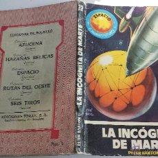 Tebeos: NOVELITA PULP TORAY: LA INCOGNITA DE MARTE PETER BARTON ESPACIO MUNDO FUTURO 22 KB. Lote 45356727