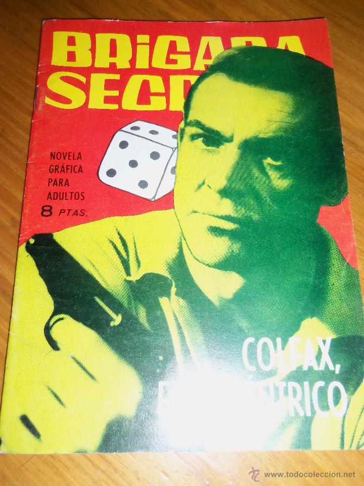COLFAX, EL EXCENTRICO (M. RODOREDA Y ARMANDO) - TORAY - Nº 57 - ESPAÑA - COLOR! (Tebeos y Comics - Toray - Brigada Secreta)