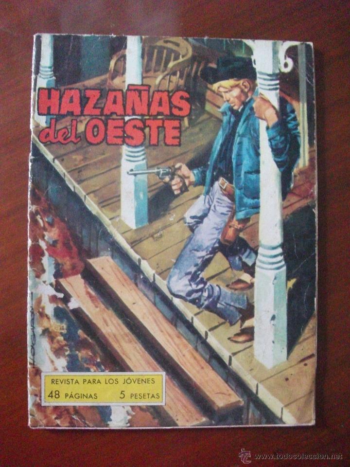 HAZAÑAS DEL OESTE Nº 28 EDICIONES TORAY (Tebeos y Comics - Toray - Hazañas del Oeste)