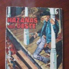 Tebeos: HAZAÑAS DEL OESTE Nº 28 EDICIONES TORAY. Lote 45467081