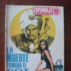 Tebeos: ESPIONAJE Nº 66 EDICIONES TORAY. Lote 45488561