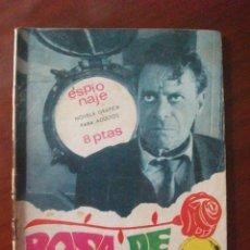 Tebeos: ESPIONAJE Nº 55 EDICIONES TORAY. Lote 45488592