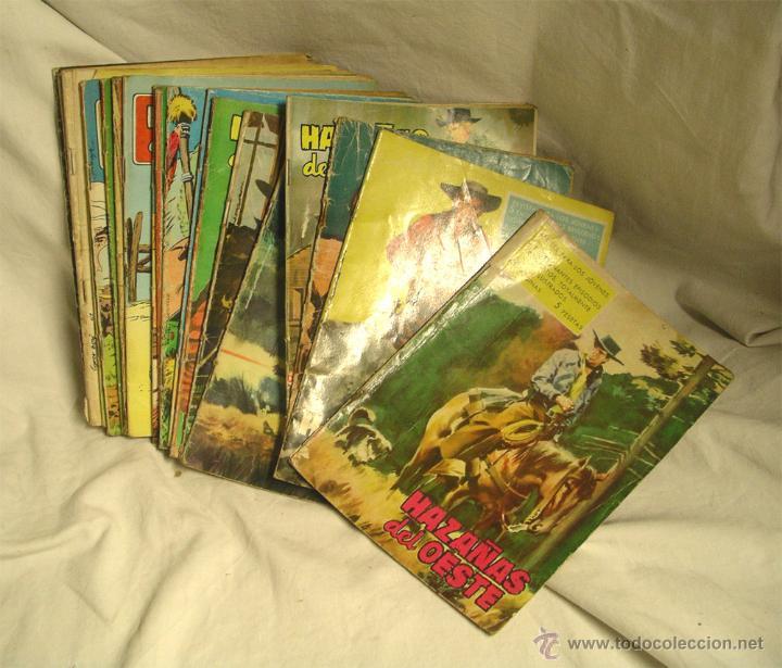 LOTE 22 HAZAÑAS DEL OESTE LISTA PUBLICADA, EDICIONES TORAY A 3 EUROS PRECIO UNIDAD (Tebeos y Comics - Toray - Hazañas del Oeste)