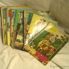 Tebeos: LOTE 22 HAZAÑAS DEL OESTE LISTA PUBLICADA, EDICIONES TORAY A 3 EUROS PRECIO UNIDAD. Lote 53545781