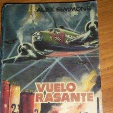 Tebeos: VUELO RASANTE, POR ALEX SIMMONS - Nº 259 - EDICION ARGENTINA - 1960. Lote 45539639