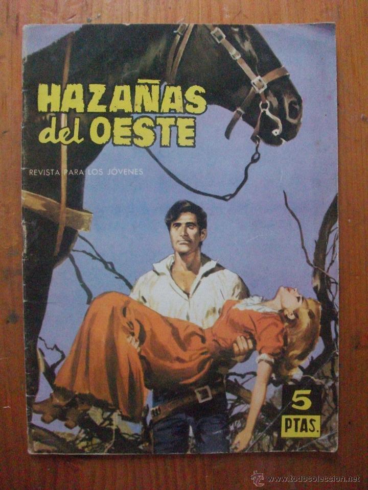 HAZAÑAS DEL OESTE Nº 40 EDICIONES TORAY (Tebeos y Comics - Toray - Hazañas del Oeste)