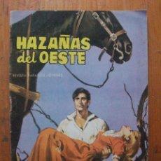 Tebeos: HAZAÑAS DEL OESTE Nº 40 EDICIONES TORAY. Lote 55859629