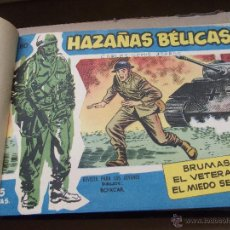 Tebeos: TOMO CON 15 TEBEOS DE HAZAÑAS BELICAS EXTRA TORAY .. Lote 45735519