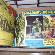 Tebeos: TOMO CON 18 TEBEOS DE HAZAÑAS BELICAS EXTRA TORAY .. Lote 45735583