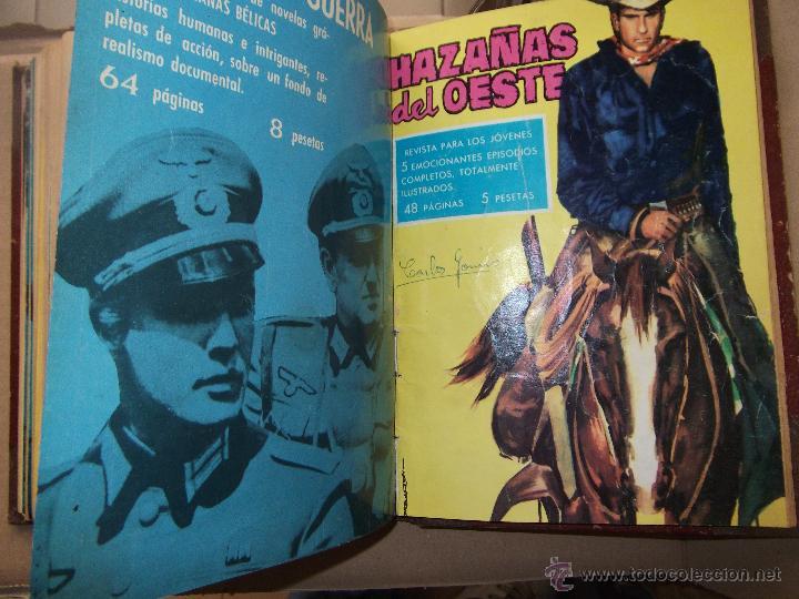 Tebeos: TOMO CON 14 TEBEOS DE HAZAÑAS DEL OSTE TORAY . - Foto 3 - 45735723