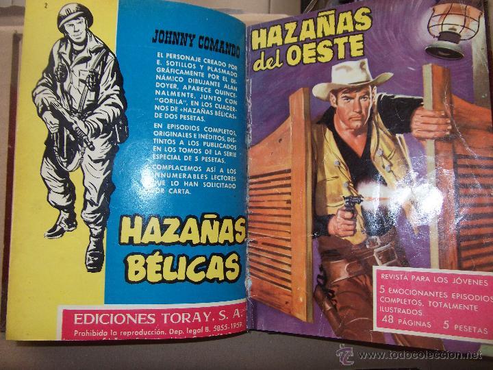 Tebeos: TOMO CON 14 TEBEOS DE HAZAÑAS DEL OSTE TORAY . - Foto 5 - 45735723