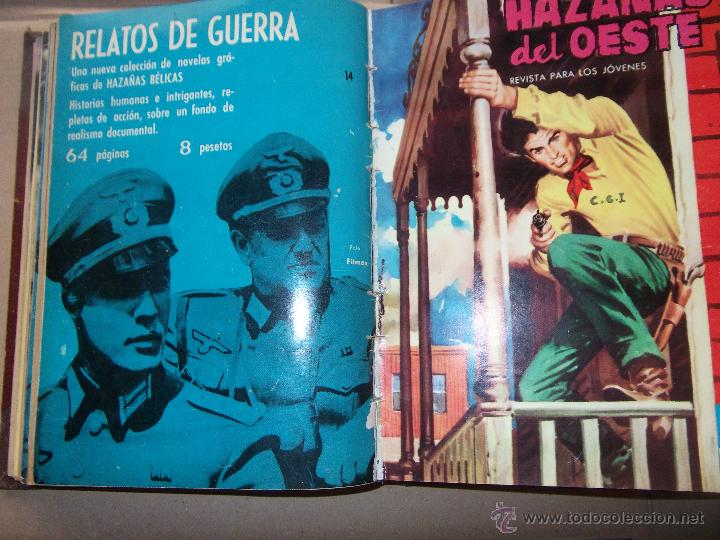 Tebeos: TOMO CON 14 TEBEOS DE HAZAÑAS DEL OSTE TORAY . - Foto 7 - 45735723