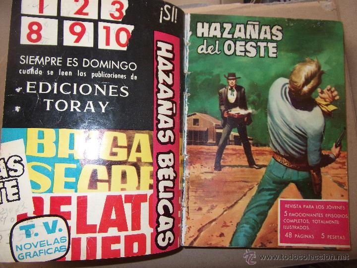 Tebeos: TOMO CON 14 TEBEOS DE HAZAÑAS DEL OSTE TORAY . - Foto 8 - 45735723