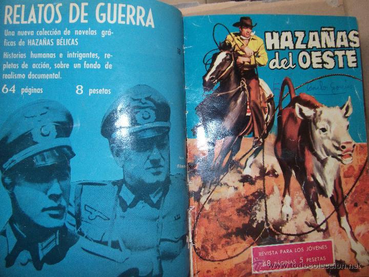 Tebeos: TOMO CON 14 TEBEOS DE HAZAÑAS DEL OSTE TORAY . - Foto 9 - 45735723