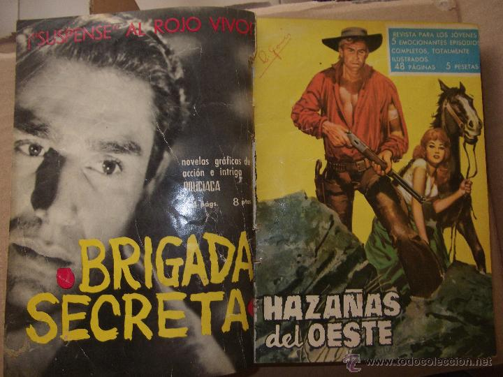 Tebeos: TOMO CON 14 TEBEOS DE HAZAÑAS DEL OSTE TORAY . - Foto 10 - 45735723