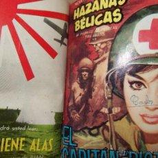 Tebeos: TOMO CON 12 TEBEOS DE HAZAÑAS BELICAS TORAY .. Lote 45735858