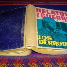 Tebeos: RETAPADO ORIGINAL TAPAS DURAS RELATOS DE GUERRA NºS 13, 14 Y 15 Y 5 NºS MÁS TORAY 1962. . Lote 45751293