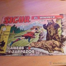 Tebeos: SIGUR EL VIKINGO Nº 9 (ORIGINAL ED. TORAY) (CL12). Lote 45761866