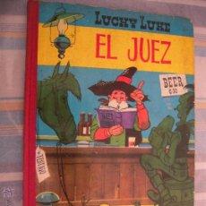 Tebeos: LUCKY LUKE EL JUEZ DE TORAY 1ª EDICION. Lote 45796013