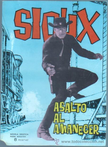 SIOUX Nº 23 - 21 X 15,5 CMS. EDI. TORAY 1965 - 48 PGS. MUY DIFICIL, MUY NUEVO (Tebeos y Comics - Toray - Sioux)