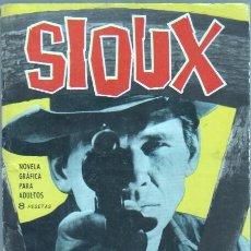 Tebeos: SIOUX Nº 30 - 21 X 15,5 CMS. EDI. TORAY 1965 - 48 PGS. . Lote 45884766