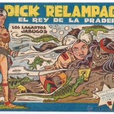 Tebeos: DICK RELAMPAGO. Nº 84. LOS LAGARTOS JABUGOS. ¡¡ULTIMO DE LA COLECCIÓN!!. EDICIONES TORAY(C/A3). Lote 100231835