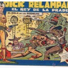 Tebeos: DICK RELAMPAGO. Nº 83. EL IDOLO DE LOS GUNEJOS. EDICIONES TORAY(C/A3). Lote 100231866