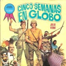 Tebeos: GRANDES AVENTURAS - Nº 3 - CINCO SEMANAS EN GLOBO - JULIO VERNE - EDICIONES TORAY, S.A. - 1985.. Lote 46114468