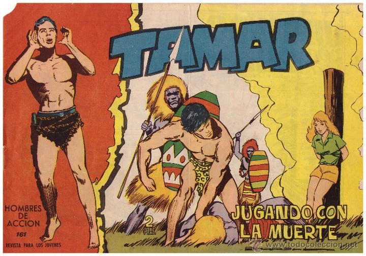 COMIC TAMAR, Nº 161; ED. TORAY - ORIGINAL, AÑO 1961 (Tebeos y Comics - Toray - Tamar)